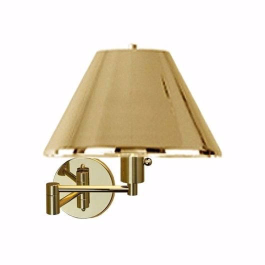 Picture of BRASS SHADE SWING ARM